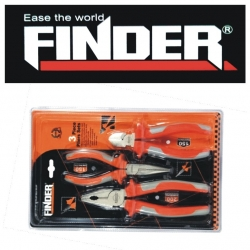 Plier Set 3 Pce Finder