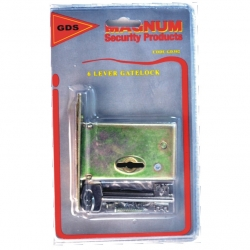 Lock Security Gate Lock Carded