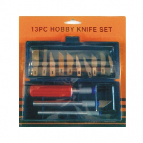 Hobby Knife Set 13Pce