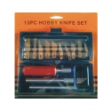 Knife Set Hobby 13Pce
