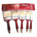 Brush Paint Brush Set 5Pce