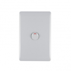 Switch 1 Level Light Switch & Plate - Aokelan