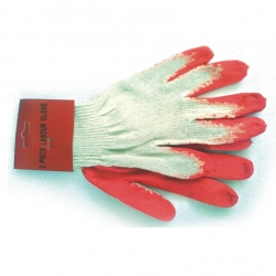 Glove Cotton Rubber