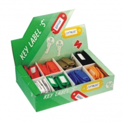 Key Tags Plastic 200 P/B