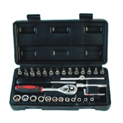 Socket Set 34Pc