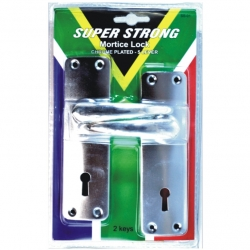 Lock Mortice 2L Chrome