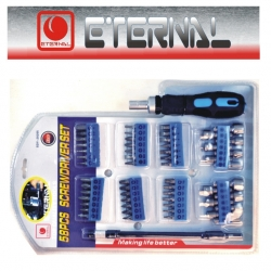 Screwdriver Set Multibit 58Pce Eternal
