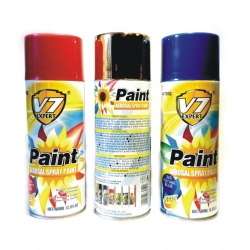 Spray Paint Orange Yellow