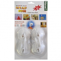 Suction Hook Holders 4pc