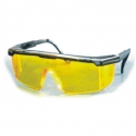 Safety Spectacle Yellow with black Frame