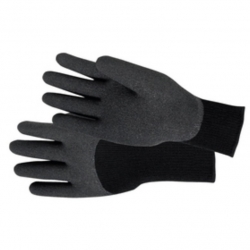 Glove PVC Coated Black