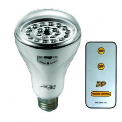 Bulb Rechargable with remote Screw in