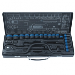 Socket Set 1/2 Dr 24 Pce