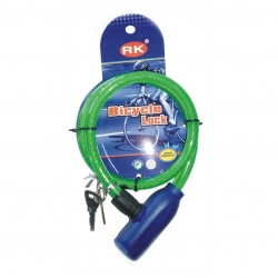 Cycle Cable lock and key