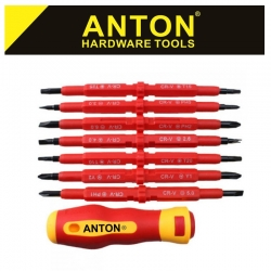 ANTON 500V PROF ELECTRICIAN 7 IN 1 MULTIBIT S/DRIVER SET