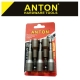 ANTON POWER NUT SET 8 X 65 5PC