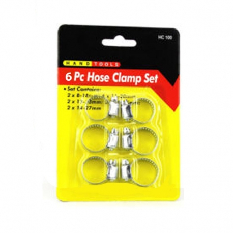 Hose Clamp Set 6Pce