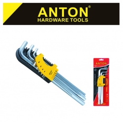 Allen Key Set Std 9 Pce X-Long