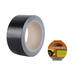 Cloth Duct Tape Black 50mm x 20m