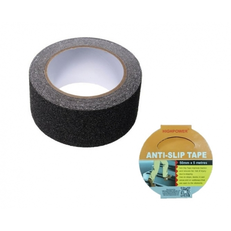 Anti Slip Tape 50mm x 5m Black
