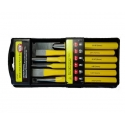 Punch & Chisel Set 6 Pce