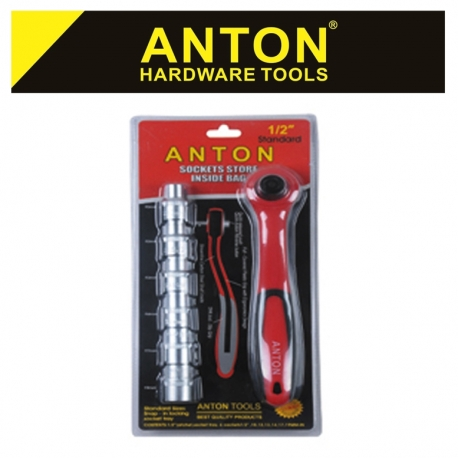 Socket Set Anton 1/4 Dr
