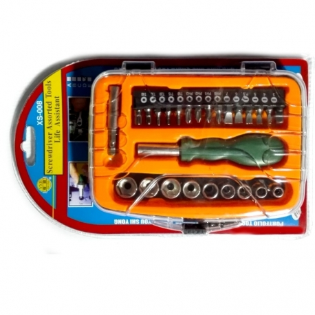 Socket Set & Driver 1/4 Dr 24Pce