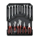 "Tool Set 186Pc in Aluminium Case 1/2"" & 1/4"""