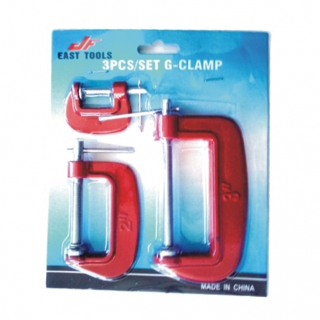 Clamp G Clamp Set 3Pce