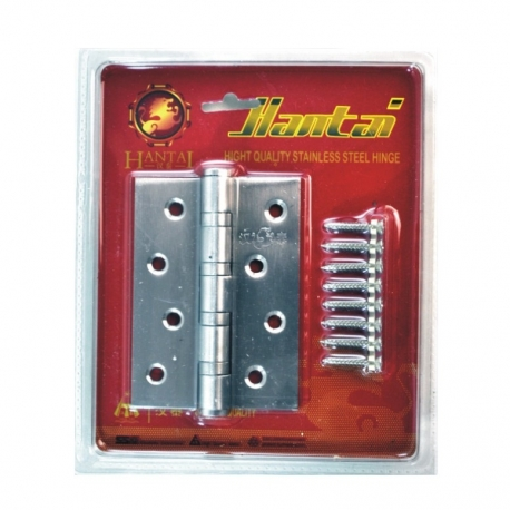 Hinge B/B 100 x 75 x 2.5mm Stainless Steel
