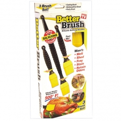 Brush Basting BBQ 3Pce