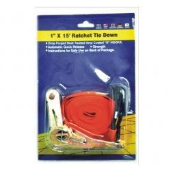Ratchet Tie Down 25mm x 4.5m