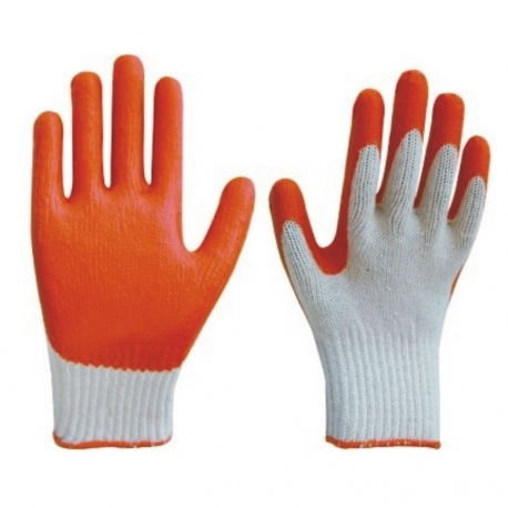 Glove Rubber Coated Heavy Duty