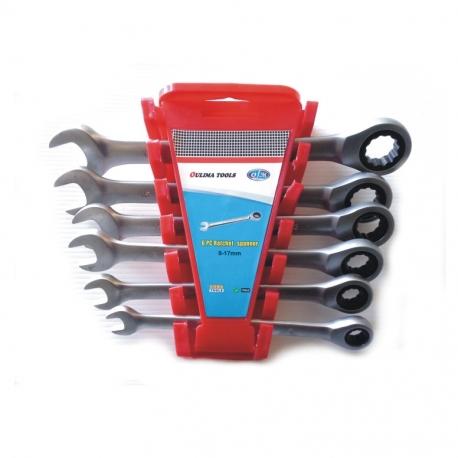 Wrench Ratchet Set 6Pc (8,10,12,13,15,17)