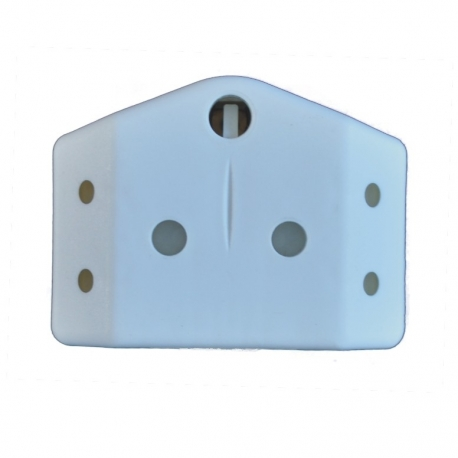 Plug Adapter 1X16A 2X5A