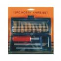Knife Set Hobby 13Pce