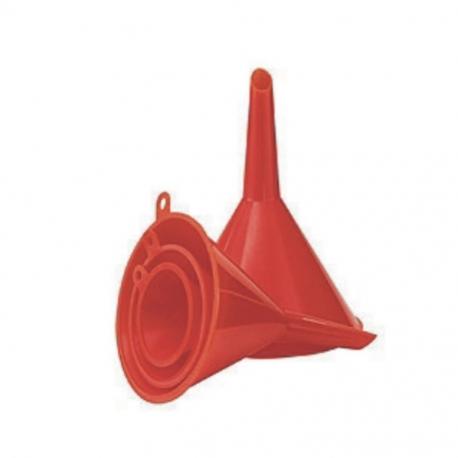 Funnel Set Plastic 4Pce
