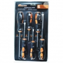 Screwdriver Set 6Pce B/Tip