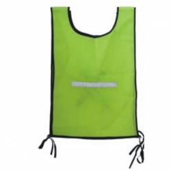 Safety Reflective Bib Jacket Lime
