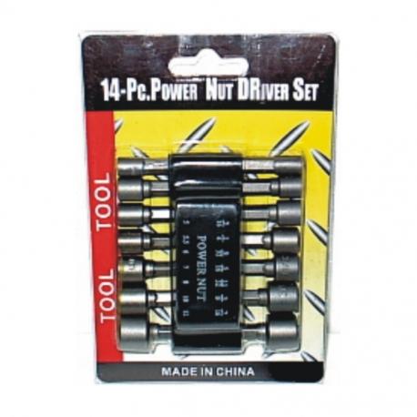 Socket Set Torx Male 1/2 Inch Drive
