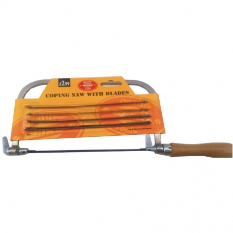 Saw Coping Saw With 5 Blades