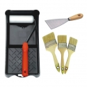 Paint Roller and Brush Set
