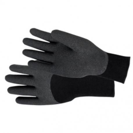 Glove PVC Coated Black