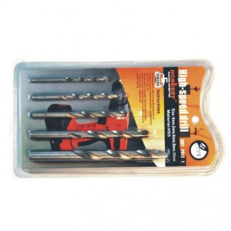 Drill Bit Set 5Pce Wood