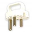 Plug 3 Pin Plug Top - with handle
