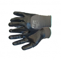 Glove PVC Coated Heavy Duty Gripped