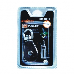 Pulley Single 38mm Carded