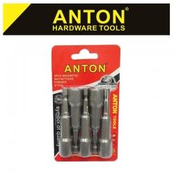 ANTON POWER NUT SET 10 X 65 5PC