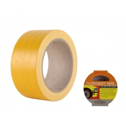 Cloth Duct Tape Yellow 50mm x 20m