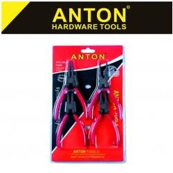 Circlip Plier Set Anton 4 Pce